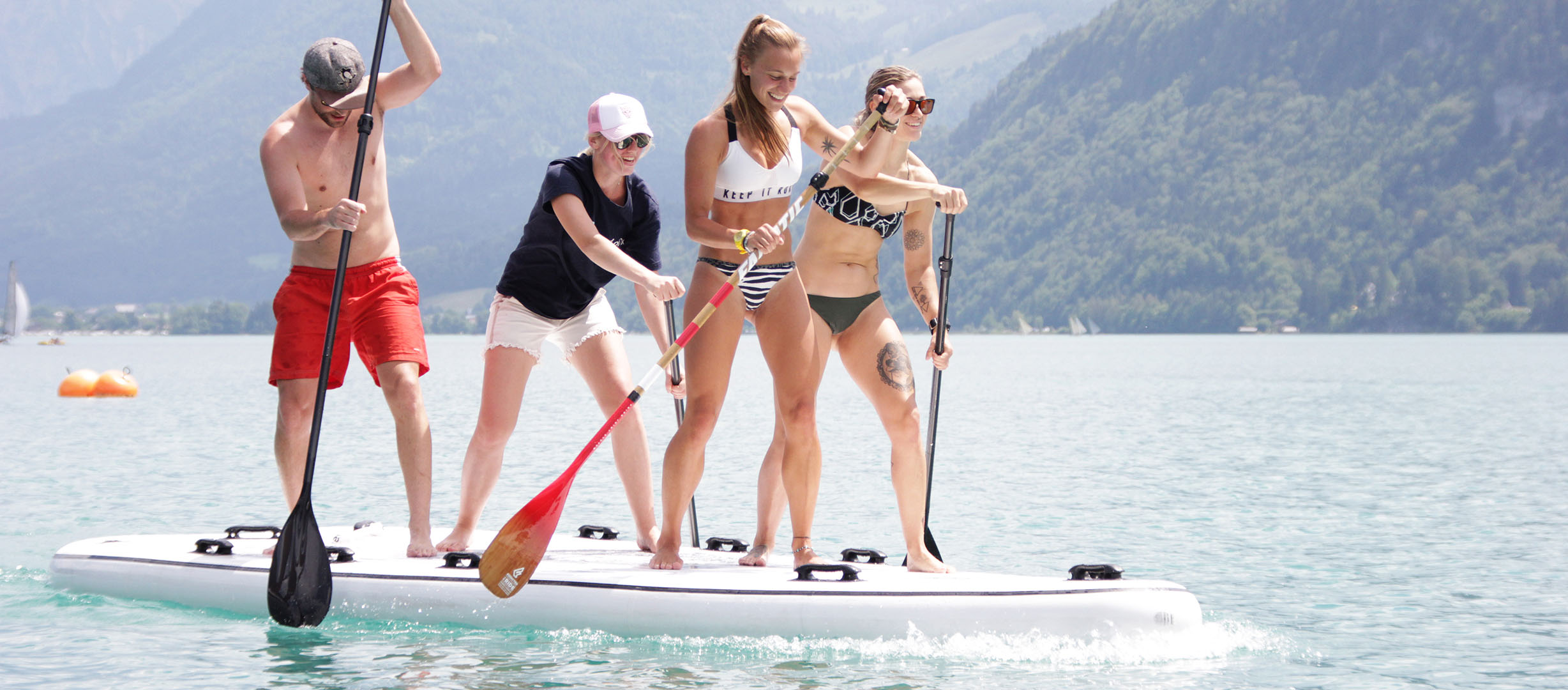 Big SUP - Große Stand up Paddle Boards